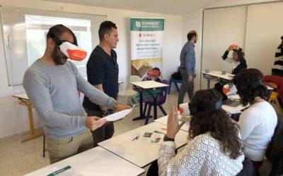 El Colegio El Pinar inicia su proyecto de Realidad Virtual aplicados al entorno del aula