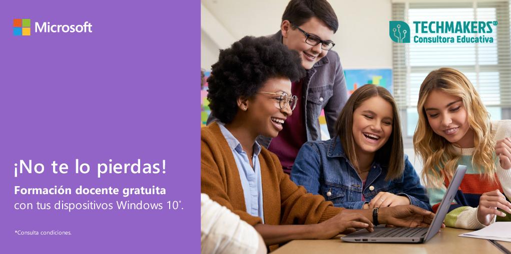 Aprovecha la formación gratuita de Microsoft Educación