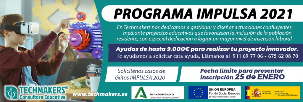Banner del progama Plan Impulsa 2021