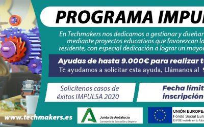 Nuevo Programa IMPULSA 2 (2021) Junta de Andalucía