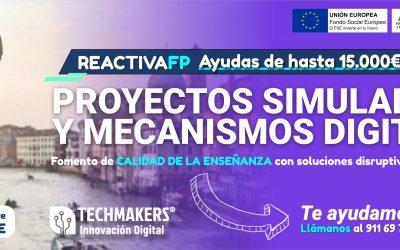 Nuevo programa ReactivaFP , simuladores virtuales para formación profesional
